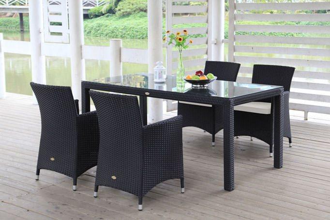 Moderne Gartenmöbel aus Rattan oder Holz ~ Moderne Gartenmöbel aus Rattan oder Holz