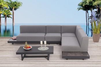 Moderne Outdoor Mobel Mit Wetterfesten Lounge Polster Samu