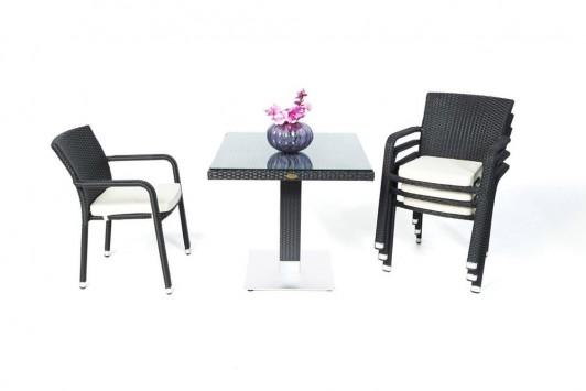 gartentisch gartenmobiliar rattan tisch gartenst hle gartenstuhl sola tisch toronto. Black Bedroom Furniture Sets. Home Design Ideas