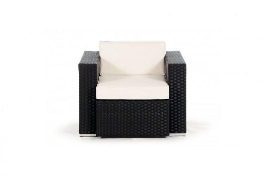 gartenm bel gartenmobiliar gartentische gartenst hle lounge melbourne sessel schwarz. Black Bedroom Furniture Sets. Home Design Ideas