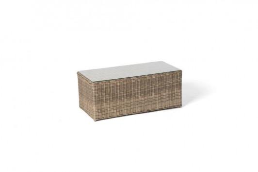 Gartenmöbel - Rattanmöbel - Pia Rattan Lounge Natural Round
