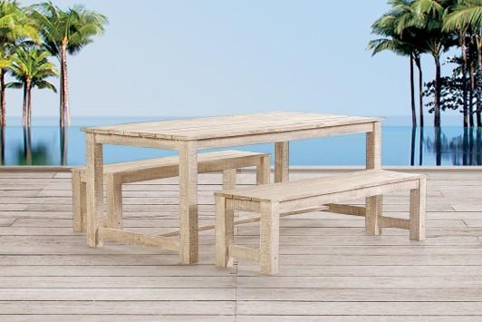 Gartenmöbel Holz Set Mit Bank ~ Gartenmöbel gartentisch holz lounge sessel tisch bank