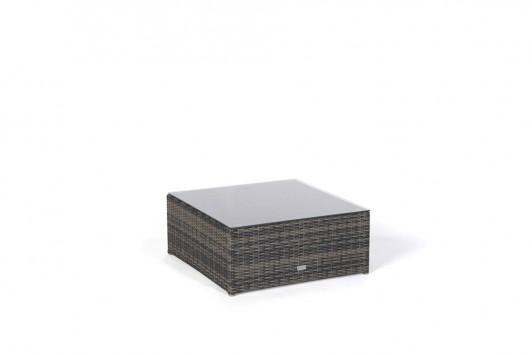Gartenmobel Tisch Alu Teak :   Sonnenliege  Liegestuhl  Rattan Lounge Ola Braun  Glasplatte