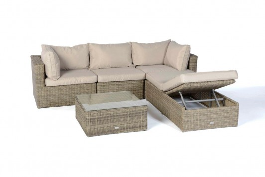 rattan lounge sofas ibiza rattan lounge natural round. Black Bedroom Furniture Sets. Home Design Ideas