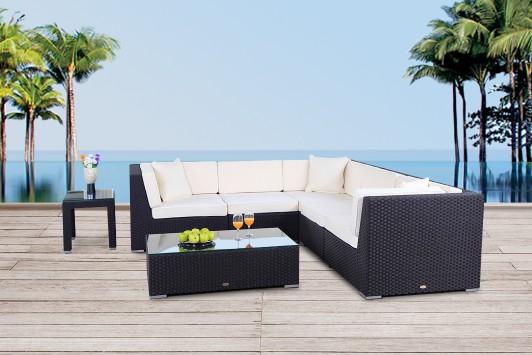 Elegant Buffalo Rattan Lounge Gartenmöbel