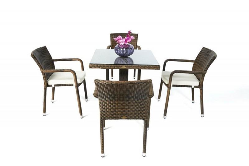 gartentisch gartenmobiliar rattan tisch gartenst hle. Black Bedroom Furniture Sets. Home Design Ideas