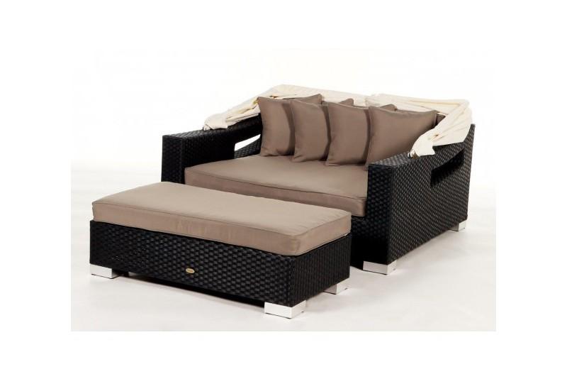 gartenm bel gartenmobiliar gartentische gartenst hle liege capri berz ge sandbraun. Black Bedroom Furniture Sets. Home Design Ideas