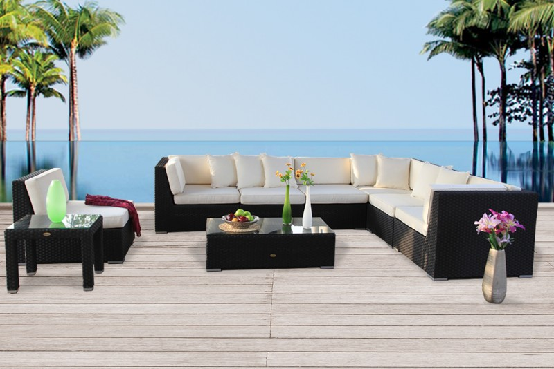 rattanmbel draussen awesome schne loungembel fr kleinen balkon lounge mbel fr balkon home with. Black Bedroom Furniture Sets. Home Design Ideas