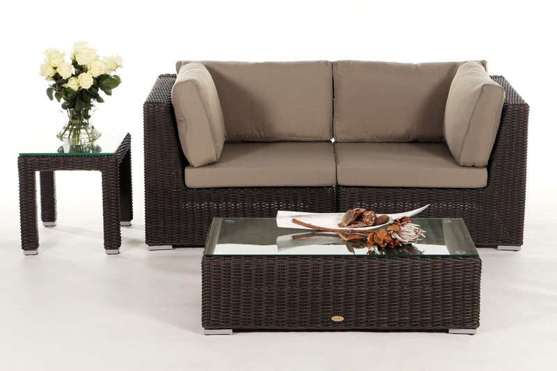 rattan sofa mit fabulous beautiful sofa rattan l form couch mit rattan corpus einrichten amp. Black Bedroom Furniture Sets. Home Design Ideas