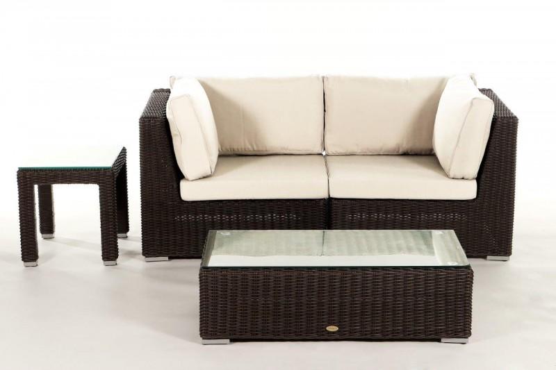 gartenm bel gartenmobiliar gartentische gartenst hle nottingham 2er lounge berzug beige. Black Bedroom Furniture Sets. Home Design Ideas