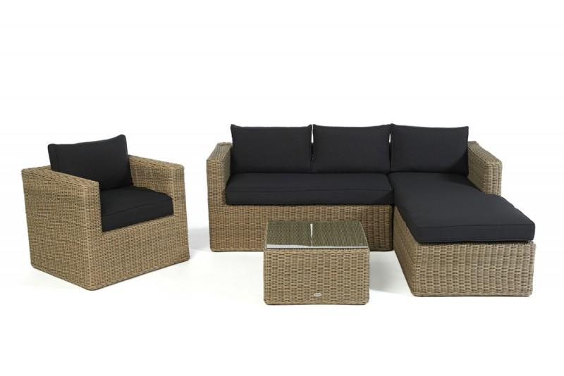 gartenm bel gartenmobiliar gartentische gartenst hle lounge bombay lounge natural. Black Bedroom Furniture Sets. Home Design Ideas