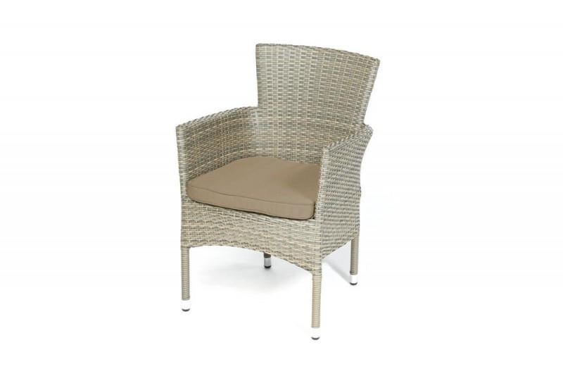 rattan stuhl gartenstuhl passend zum rattan tisch set bellissima. Black Bedroom Furniture Sets. Home Design Ideas