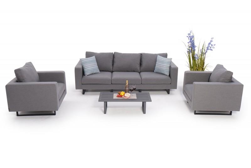 die outdoor lounge dylen ist nach einem regenschauer innert k rze sofort wieder trocken und. Black Bedroom Furniture Sets. Home Design Ideas
