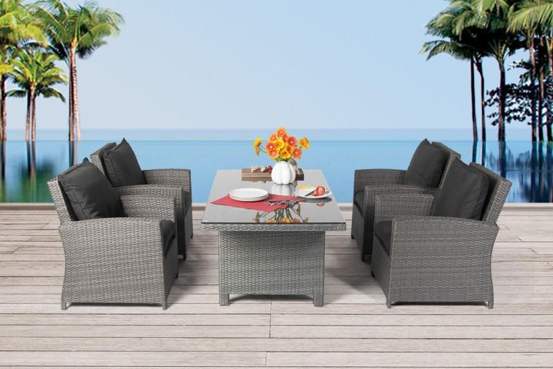 Gartenmöbel - Gartentische - Gartenstühle - Rattan Tisch ...