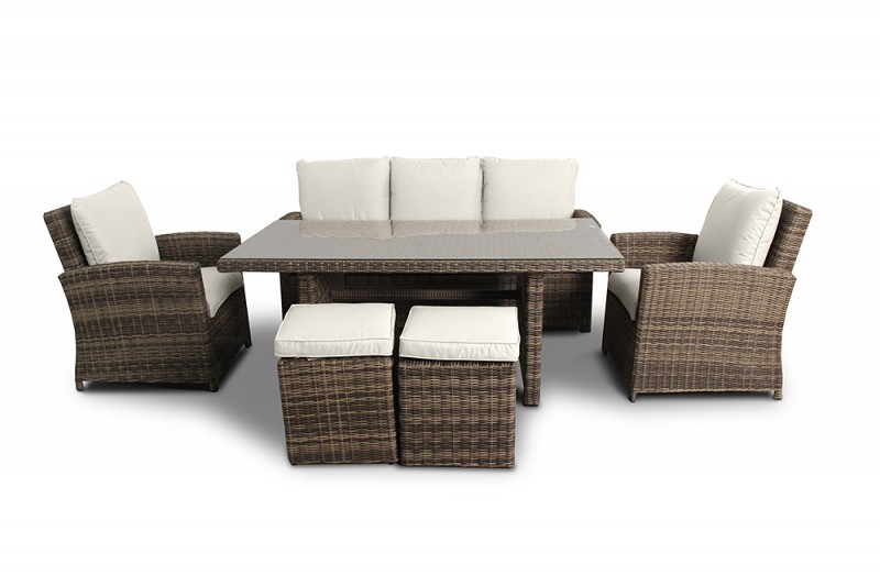 rattan gartenm bel gartenmobiliar gartenlounge rattan lounge brisbane rattan sitgruppe. Black Bedroom Furniture Sets. Home Design Ideas