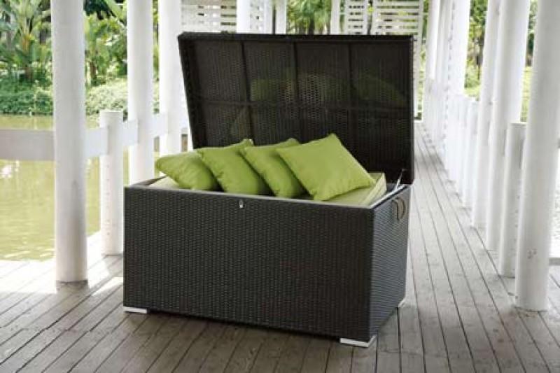 Obi Baumarkt Balkonmobel : Pillowbox  Kissenbox  Kissentruhe  Gartentische  Gartenstühle