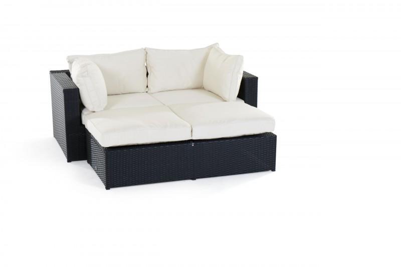 gartenm bel gartenmobiliar gartentische gartenst hle m bel ola rattan lounge schwarz. Black Bedroom Furniture Sets. Home Design Ideas