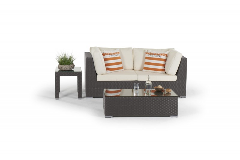 rattan gartenm bel gartenmobiliar gartentische gartenst hle bella rattan lounge braun. Black Bedroom Furniture Sets. Home Design Ideas