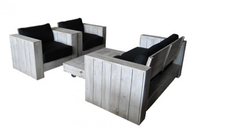 gartenm bel holz lounge sessel tisch sylt. Black Bedroom Furniture Sets. Home Design Ideas