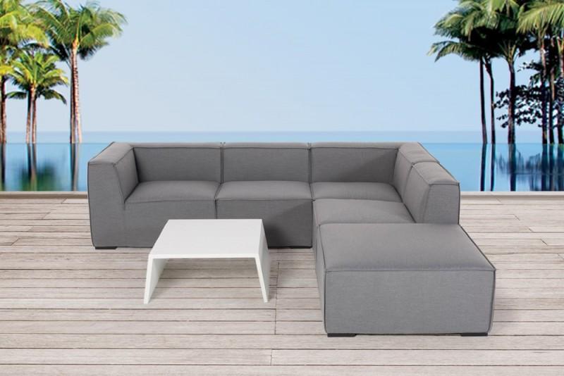 outdoor lounge rosalie outdoorm bel grau. Black Bedroom Furniture Sets. Home Design Ideas