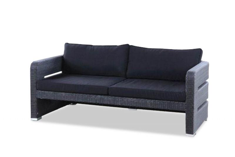 gartenm bel gartenmobiliar gartentische gartenst hle gartenliege lounge tokio schwarz. Black Bedroom Furniture Sets. Home Design Ideas