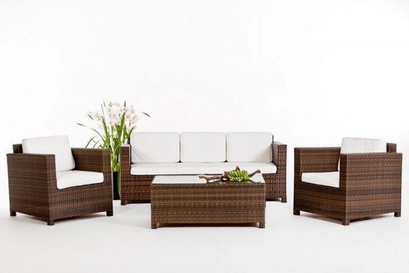 Gartenmöbel - Gartenmobiliar - Rattan Lounge - Bona Dea ...