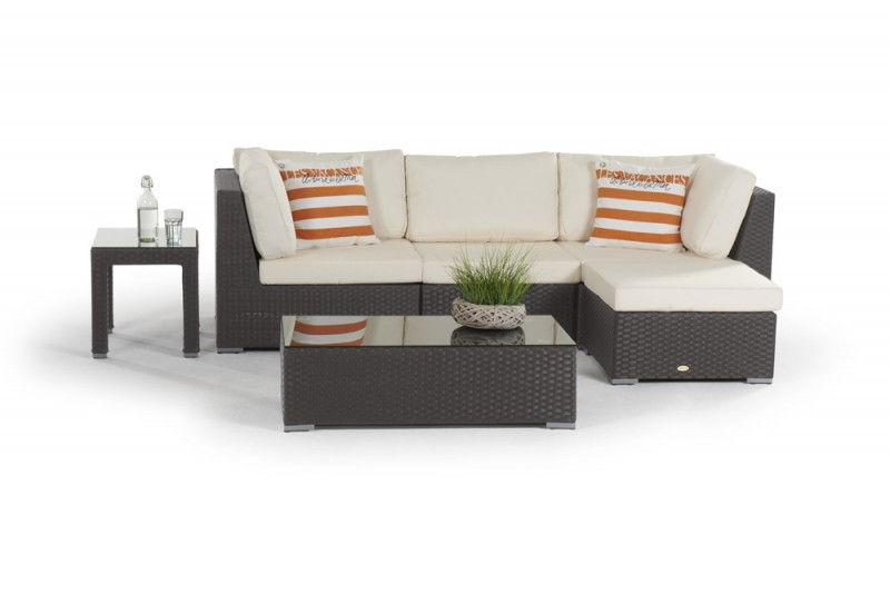fuer garten rattan lounge braun with rattan sofa set online india