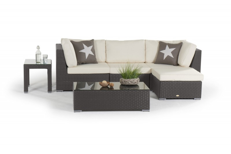 rattan gartenm bel gartenmobiliar gartentische gartenst hle mirabelle rattan lounge braun. Black Bedroom Furniture Sets. Home Design Ideas