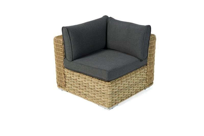 Rattan Gartenmöbel Lounge Kobra Eckteil