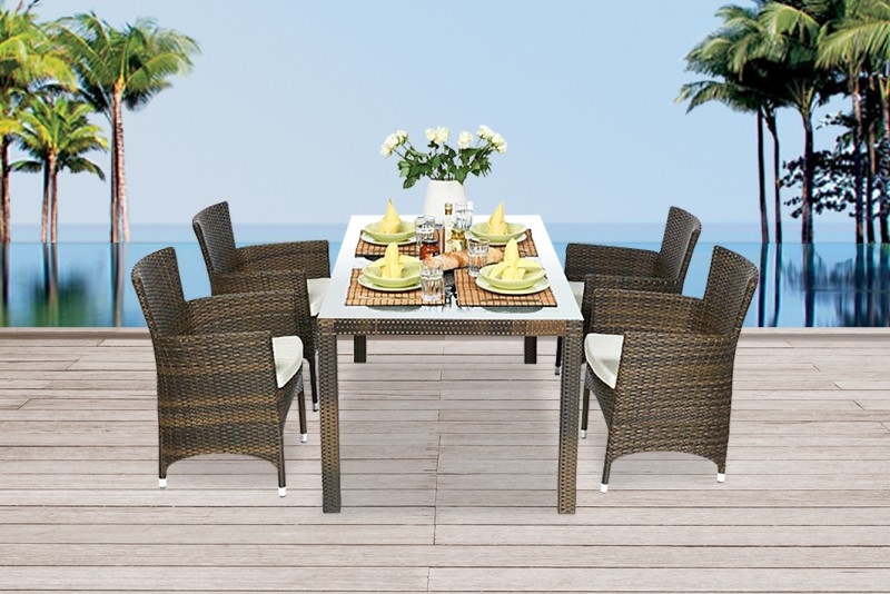 gartentisch rund 180 cm affordable tisch rund betonoptik esstisch rund grau durchmesser cm with. Black Bedroom Furniture Sets. Home Design Ideas
