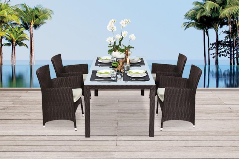 Gartenmobel Gartenmobiliar Gartentische Rattan Tisch