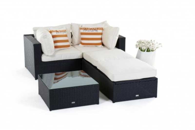 Outdoor Möbel Zubehör für die Rattan Lounge Ola