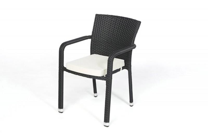 gartenstuhl aus rattan passend zum esstisch set toronto. Black Bedroom Furniture Sets. Home Design Ideas
