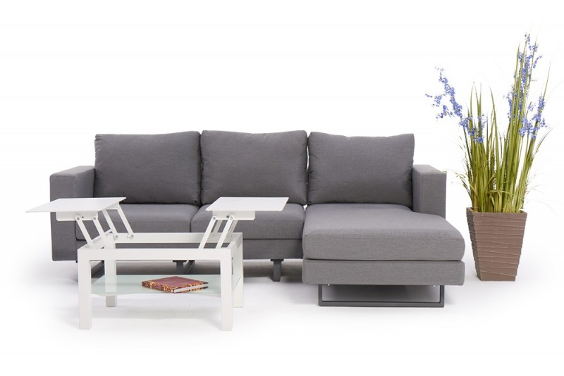 outdoor garten lounge seven deluxe wetterfeste sitzm bel. Black Bedroom Furniture Sets. Home Design Ideas