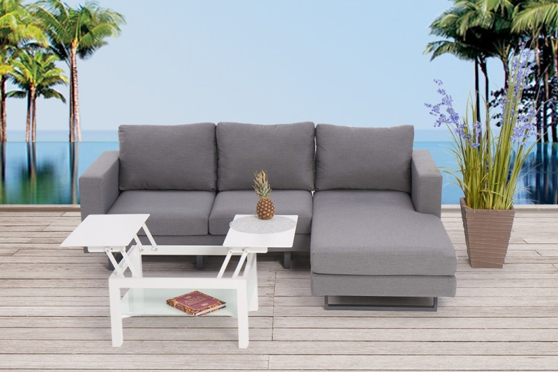 gartenm bel gartenlounge outdoor lounge seven. Black Bedroom Furniture Sets. Home Design Ideas