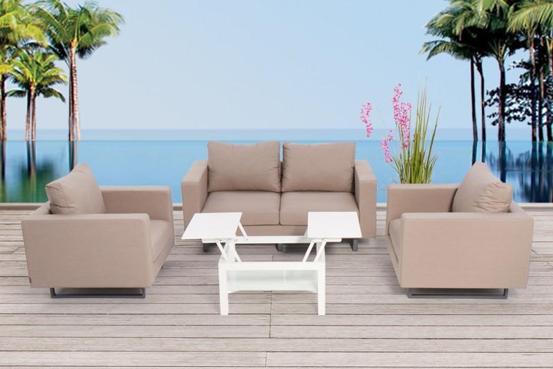 Textile Outdoor Lounge Shanti Wasser Wetterfest Neue Sunbrella