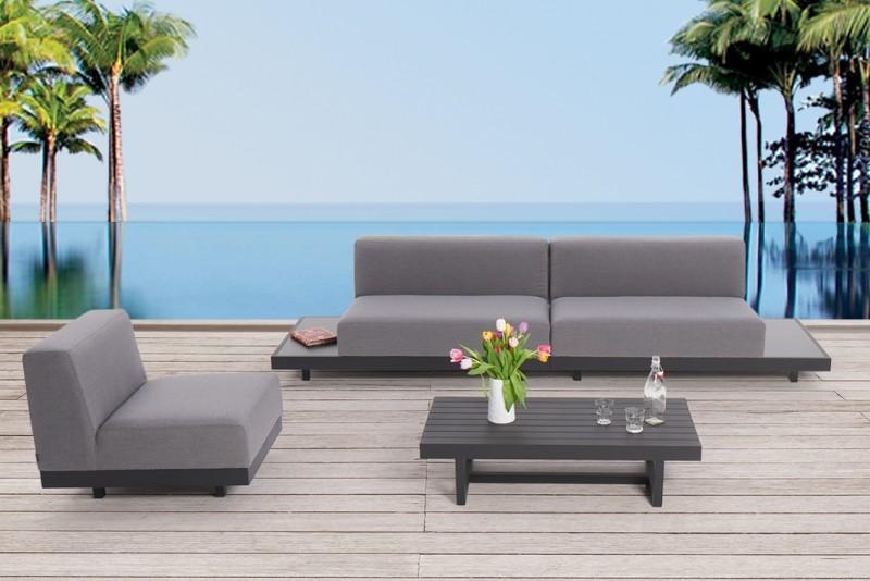 outdoor m bel mit wetterfesten lounge polster watson. Black Bedroom Furniture Sets. Home Design Ideas