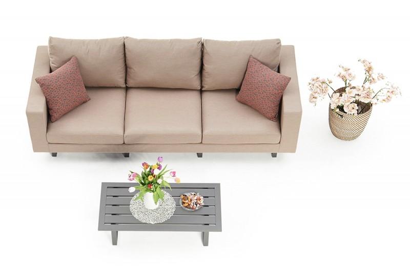 Outdoor Lounge Surya. Wetterfeste Sitzpolster, hochwertig und bequem ...