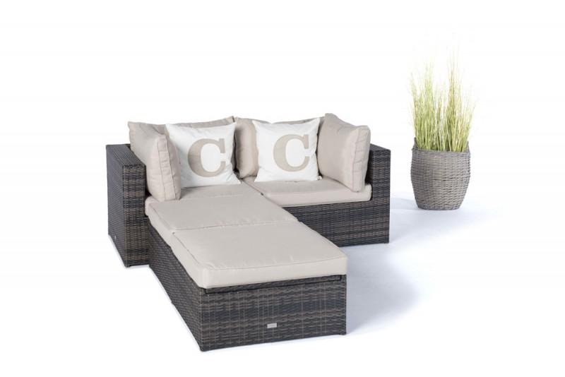 Gartentische  Gartenstühle  Möbel  Ola Rattan Lounge Braun