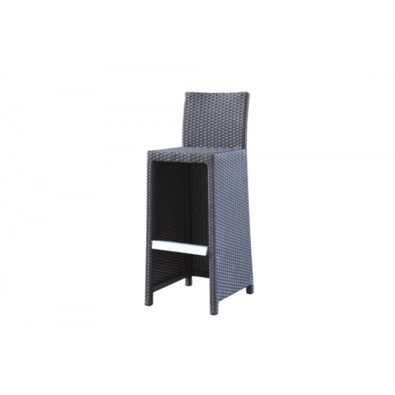 gartenm bel rattan gartentische gartenst hle gartenliege bar comfort class braun. Black Bedroom Furniture Sets. Home Design Ideas