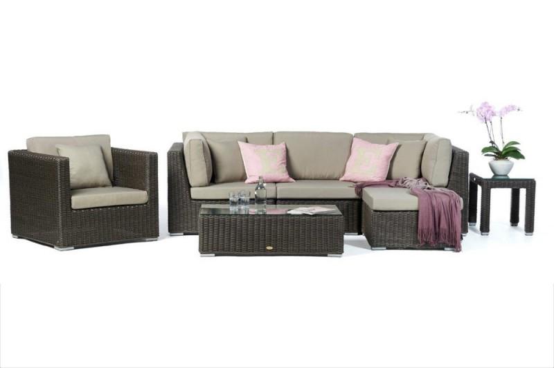 gartenm bel rattanm bel maui rattan lounge special braun. Black Bedroom Furniture Sets. Home Design Ideas