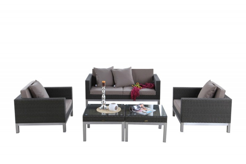 gartenmbel set rattan cool gartenmobel lounge rattan. Black Bedroom Furniture Sets. Home Design Ideas