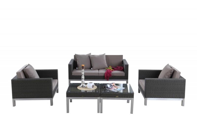 gartenmbel set rattan cool gartenmobel lounge rattan lovely jardines de invierno to poly. Black Bedroom Furniture Sets. Home Design Ideas