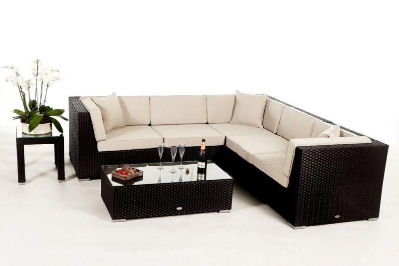 Best Buffalo Rattan Gartenmbel Lounge Schwarz With Rattan Gartenmbel