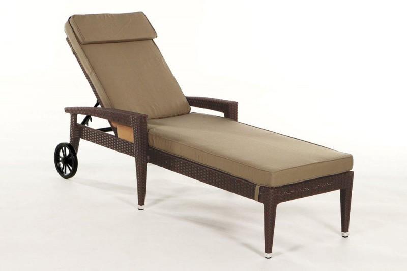 gartenm bel gartenmobiliar gartentische gartenst hle sonnenliege cairns braun. Black Bedroom Furniture Sets. Home Design Ideas