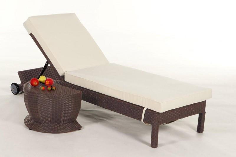 gartenm bel gartenmobiliar gartentische gartenst hle sonnenliege iduna braun. Black Bedroom Furniture Sets. Home Design Ideas