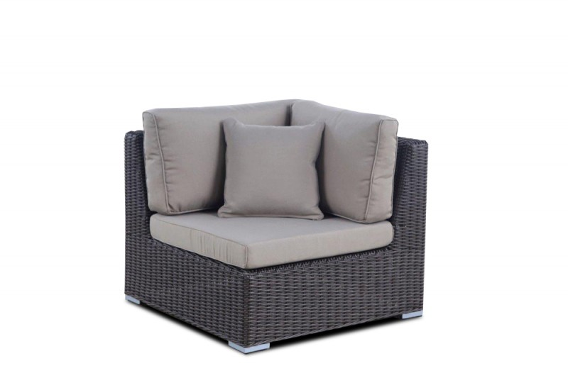 gartenm bel rattanm bel maui rattan lounge round braun. Black Bedroom Furniture Sets. Home Design Ideas