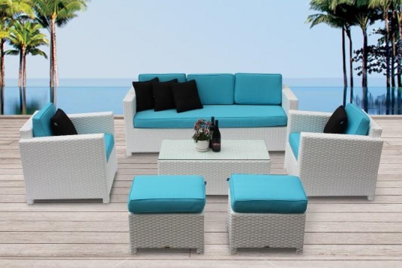 hochwertige rattan sitzgruppen f r balkon oder terrasse. Black Bedroom Furniture Sets. Home Design Ideas