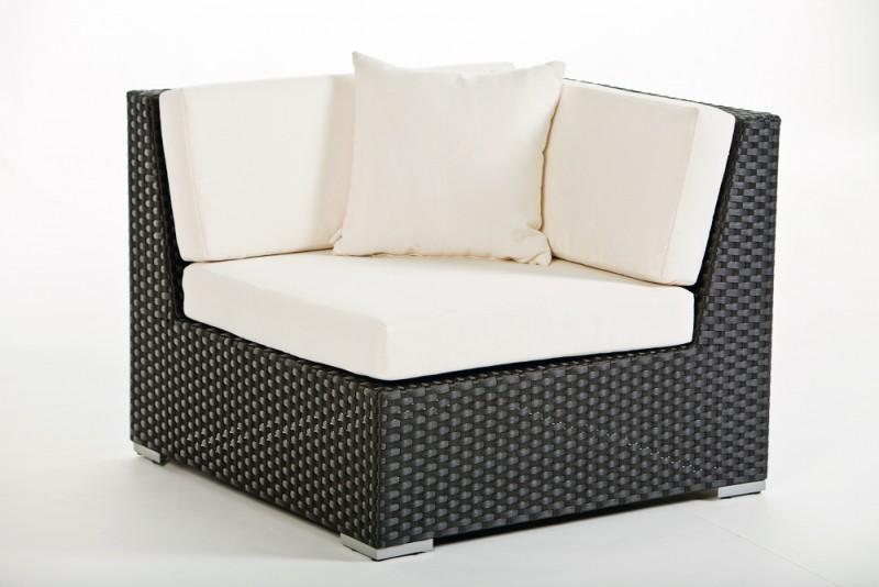 Hochbeet Mit Steinen Selber Bauen :   Gartenstühle  Rattan Lounge  Loungemöbel  Barbados schwarz