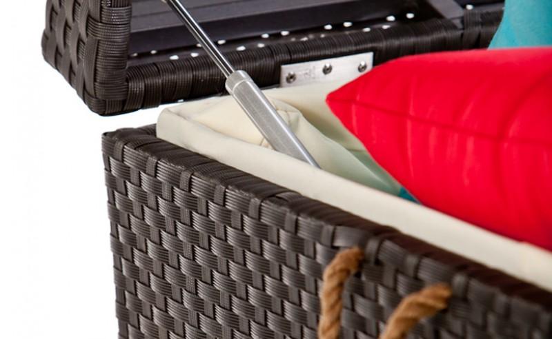 Bauhaus Gartenmobel Alina : Gartenmobiliar  Pillowbox  Kissenbox  Kissentruhe  Gartentische